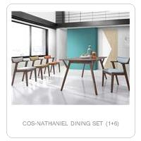 COS-NATHANIEL DINING SET (1+6)